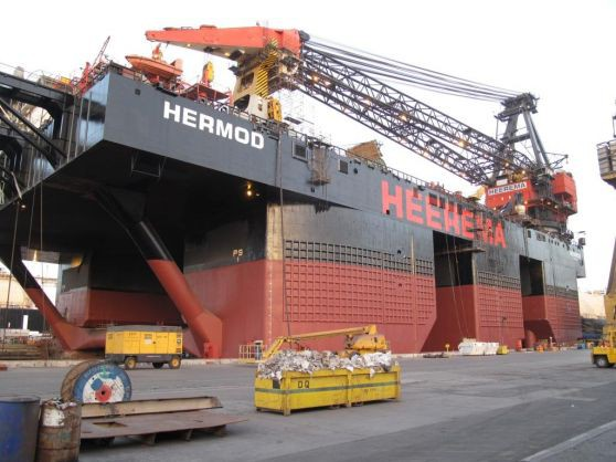 Hermod in Dock